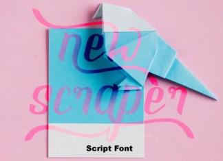 New Scraper Font