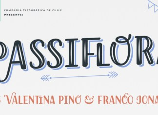 Passiflora Font Family