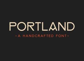 PORTLAND — Handcrafted Vintage Font