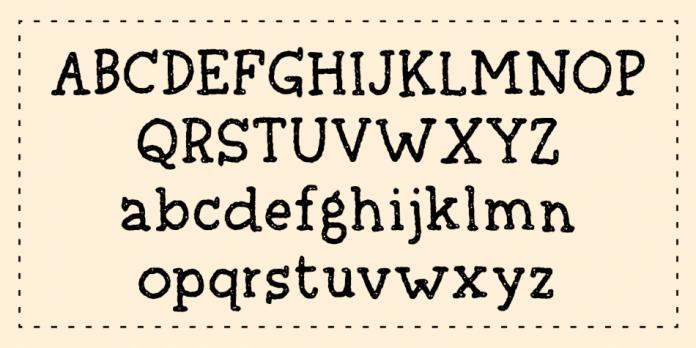 Skrivemaskine Script Font