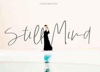 Still Mind | Classy Font