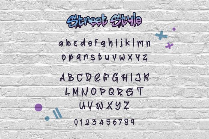 Street Style Font Scrip
