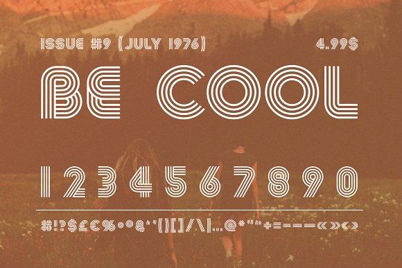 Summer 0f 76 - Multi-Line Font Script