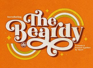The Beardy Font