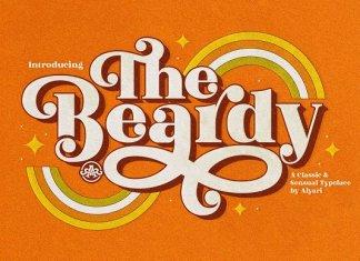 The Beardy Font