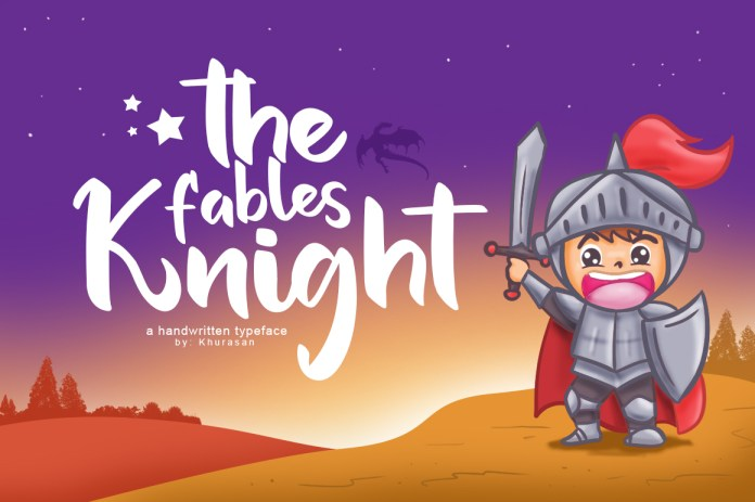 The Fables Knight Script Font