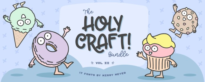 The Holy Craft Font Script