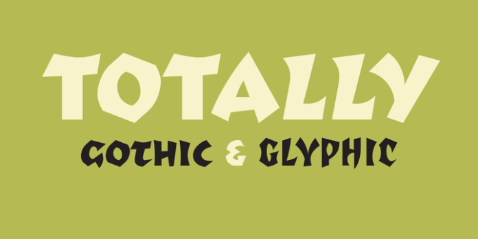 Totally Gothic & Totally Glyphic Font Family