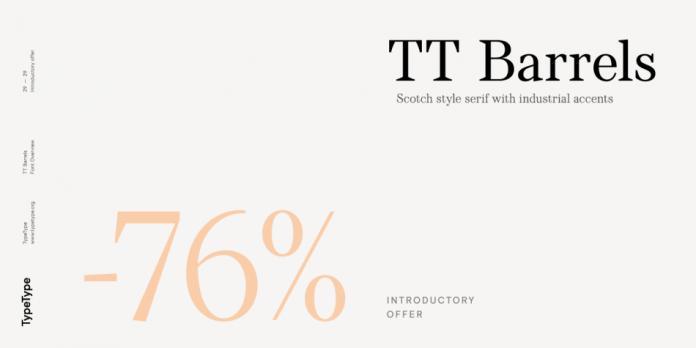 TT Barrels Font