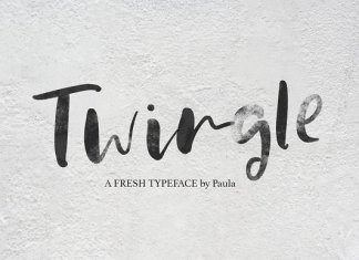 Twingle | Scrip + SVG Font