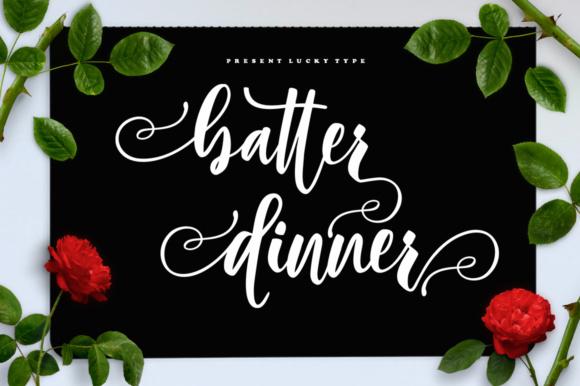 Batter Dinner Script