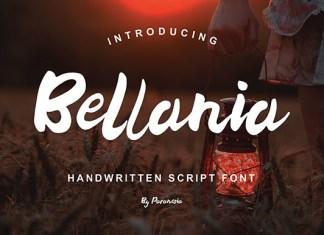 Bellania Script
