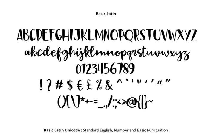 Black Sail Brush Font
