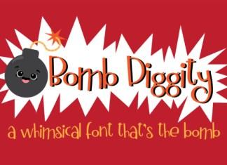 Bomb Diggity Font