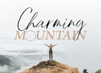 Charming Mountain Font