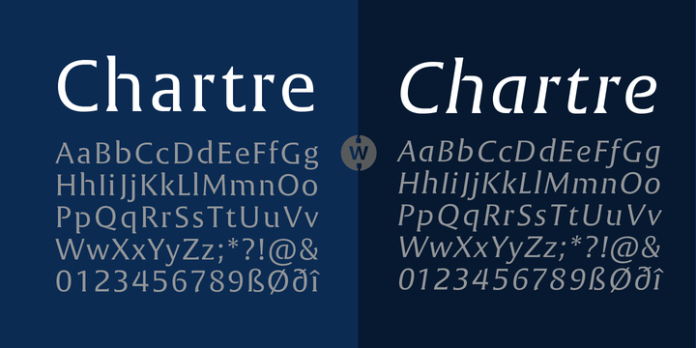 Chartre Font Family