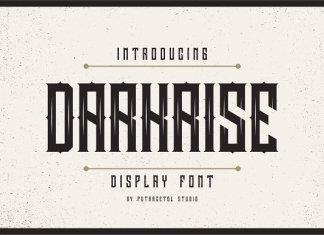 Darkrise Typeface Font