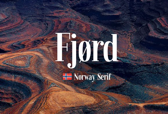 Fjørd Serif Font