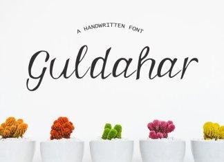 Guldahar Handwritten Font
