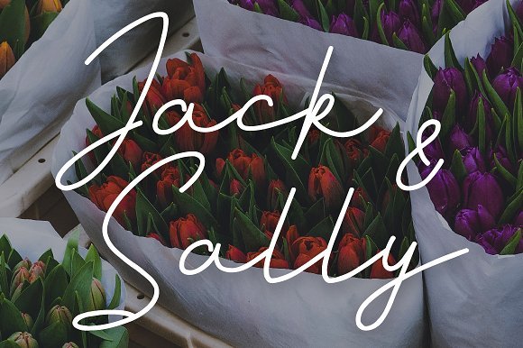 Jack And Sally Typeface
