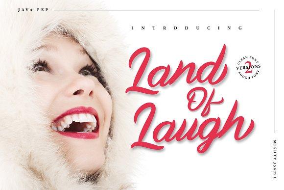 Land Of Laugh -Clean & Rough