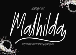 Mathilda Script