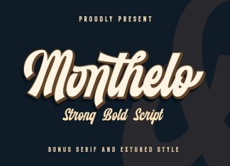 Monthelo Font