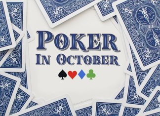 Poker In October Layered Color Font