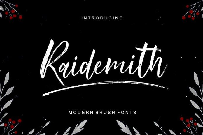 Raidemith Font