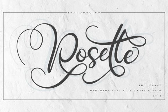 Rosette Script Font