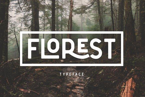 The Florest Typeface