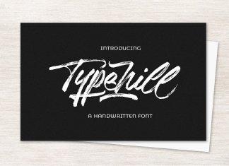 Typehill Script Font