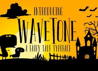 Wavetone Typeface