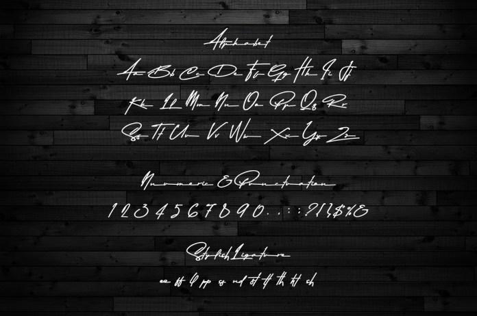 Asem Kandis - A Signature FontScript Font