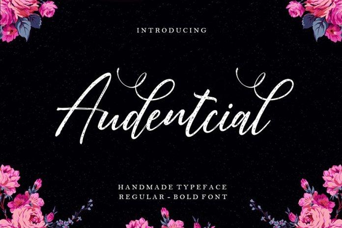 Audentcial Font