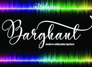 Barghant Script Font