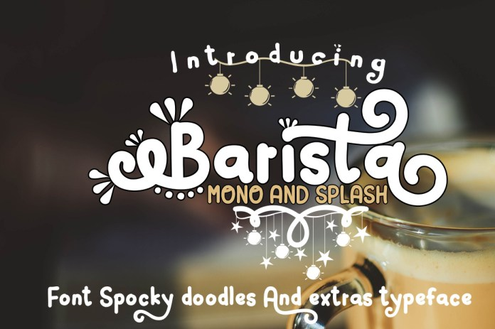 Barista Other Font