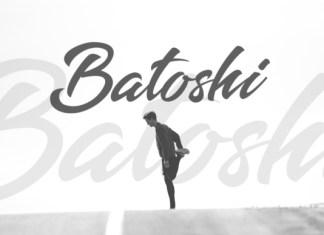 Batoshi Script Font