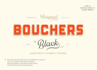 Bouchers Layered Duo Font