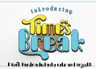 Break Times Other Font