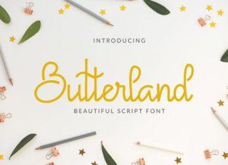 Butterland Font