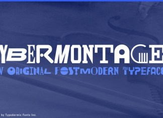 Cybermontage Font