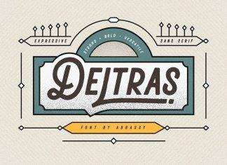 Deltras Font