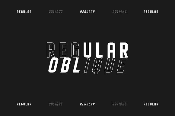 DISPLAYED Typeface