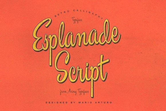 Esplanade Script
