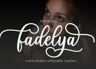 Fadelya Script Font
