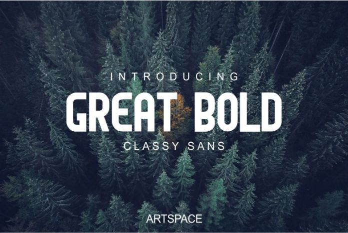 GREAT BOLD Regular Font