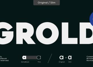 Grold Font Family
