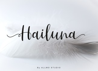 Hailuna Script Font