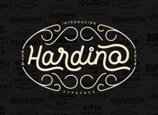 Hardino Font